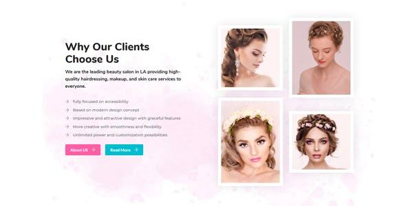 BeautyZone: Beauty Spa Salon WordPress Theme