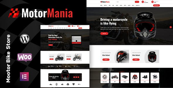 MotorMania | Motorcycle Accessories WooCommerce Theme