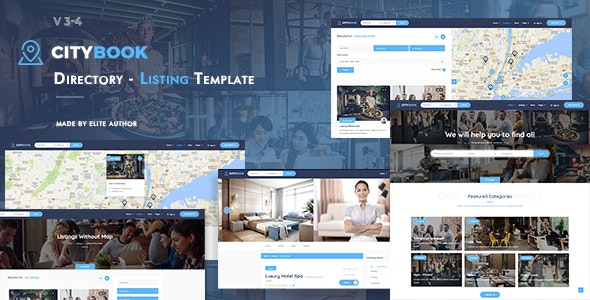 Citybook - Directory & Listing Template - Business Corporate