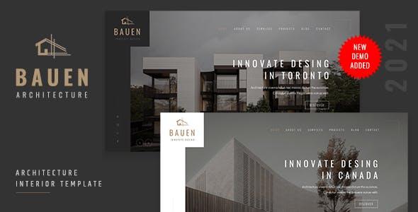 BAUEN - Architecture & Interior Template