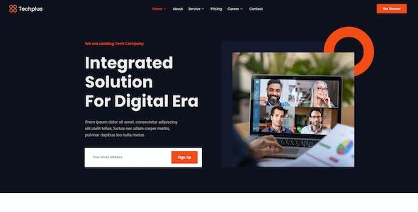 Techplus - Tech Business Elementor Template Kit