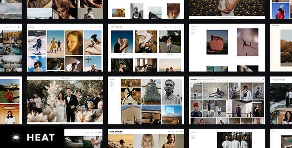 Heat - Responsive Photography WordPress Theme