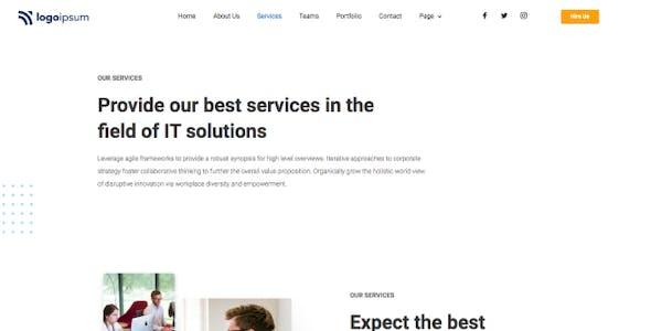 Mazuma - Business Elementor Template Kit