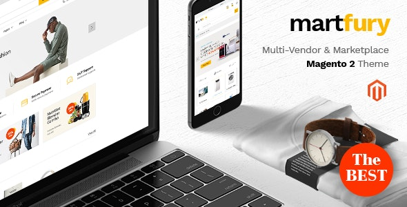 Martfury - Marketplace Multipurporse eCommerce Magento 2 Theme - Magento eCommerce