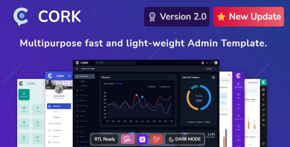 Cork - Responsive Admin Dashboard Template