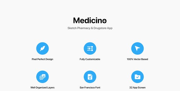 Medicino - Sketch Pharmacy & Drugstore App