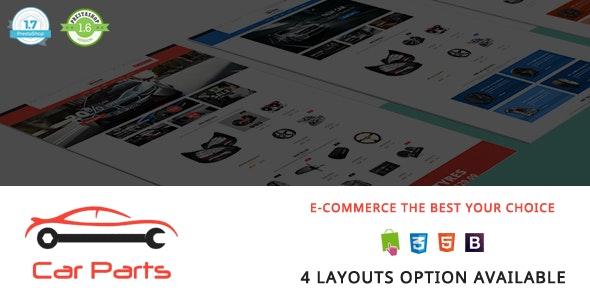 Carparts - Auto Mechanic Responsive PrestaShop 1.7 & 1.6 Theme - Shopping PrestaShop
