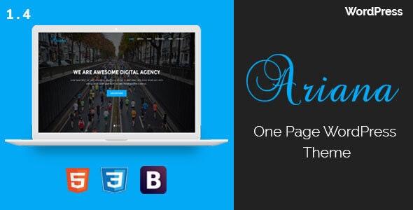 Ariana - Digital Agency WordPress Theme - Technology WordPress