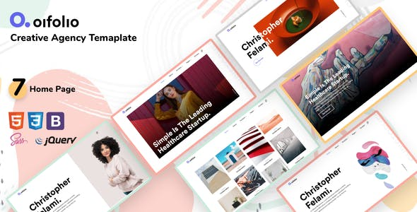 Oifolio- Creative Agency Bootstrap Template