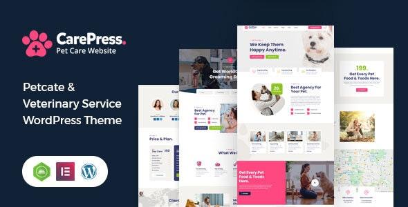 CarePress - Pet Care WordPress Theme - Health & Beauty Retail