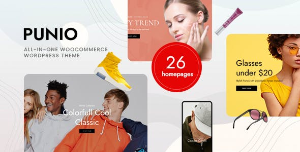 Punio – All-in-one WooCommerce WordPress Theme