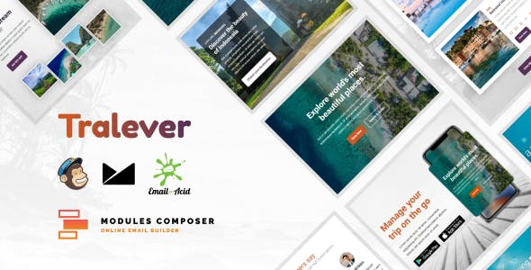 Tralever - Responsive Email for Agencies, Startups & Creative Teams with Online Builder