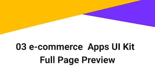 BizCart - eCommerce Mobile App UI Kit