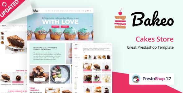 Bakeo - Cake Shop PrestaShop Theme