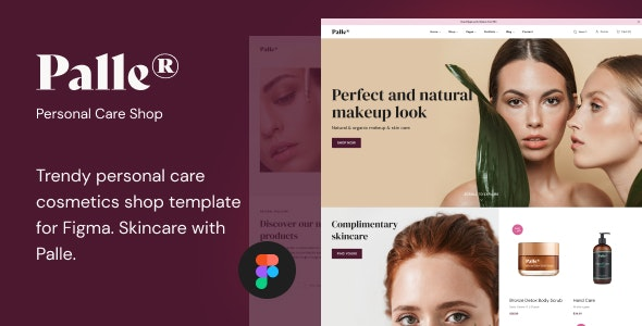 Palle — Personal Care Shop Template - Health & Beauty Retail