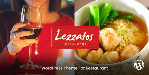 Lezzatos - Restaurant and Cafe Wordpress Theme