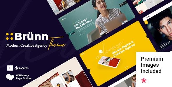 Brünn - Creative Agency Theme - Business Corporate