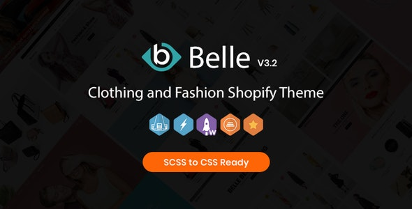 Belle - Clothing and Fashion Shopify Theme - Fashion Shopify