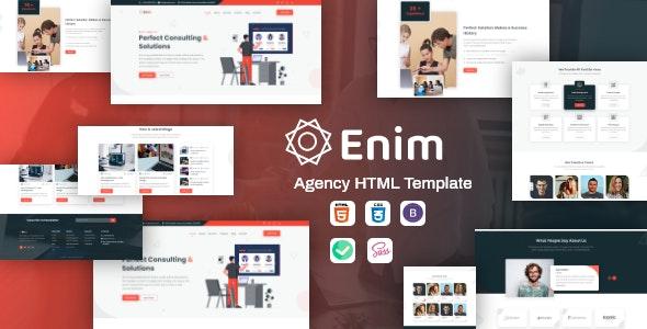Enim - Corporate Business HTML Template - Business Corporate