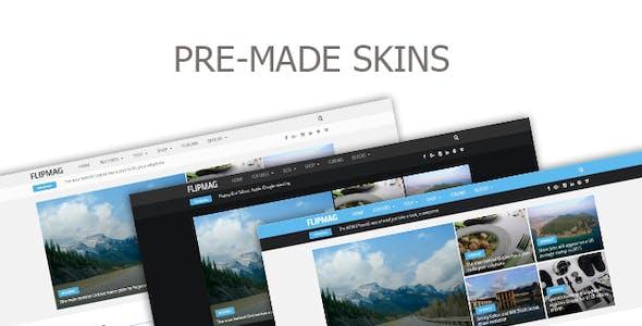 Flip Mag - Viral WordPress News Magazine/Blog Theme