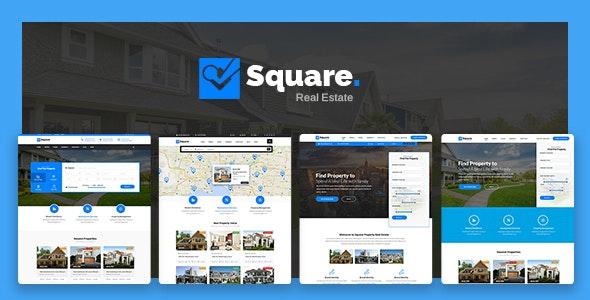 Square - Real Estate WordPress Theme - Real Estate WordPress