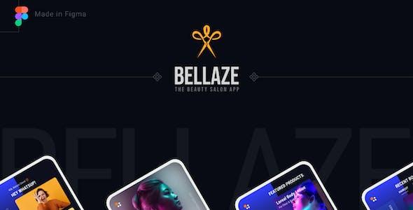 BELLAZE   Salon Service and Shop Mobile UI Template