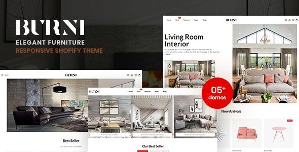 Burni - Elegant Furniture Shop For Shopify - Shopify eCommerce