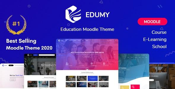 Edumy - Premium Moodle LMS Theme - Moodle CMS Themes