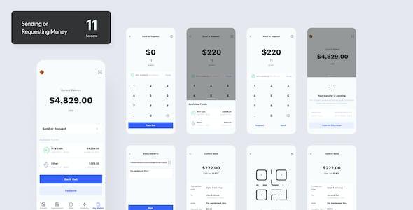 NTVCypto Wallet Mobile UI Library