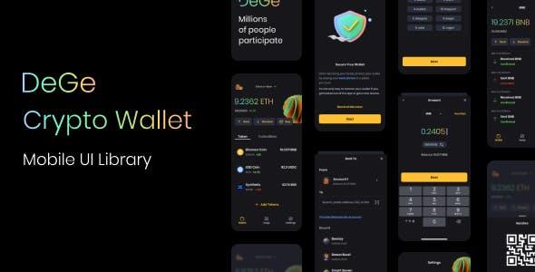 DeGe Mobile Crypto Wallet