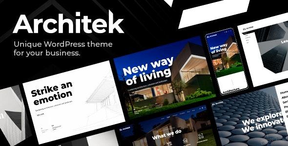 Architek - Responsive Multi-Concept WordPress Theme - Business Corporate