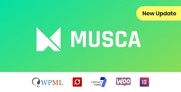 Musca - Multipurpose WordPress theme