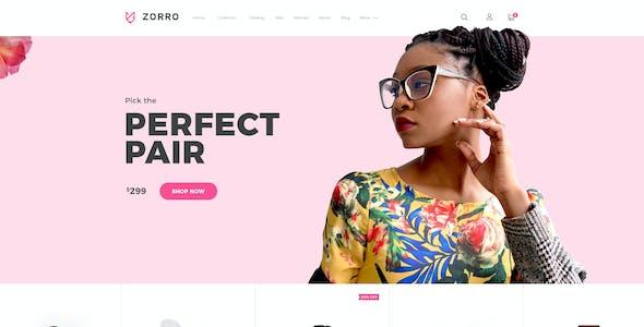 Zorro |  Mutilpurpose eCommerce PSD Template