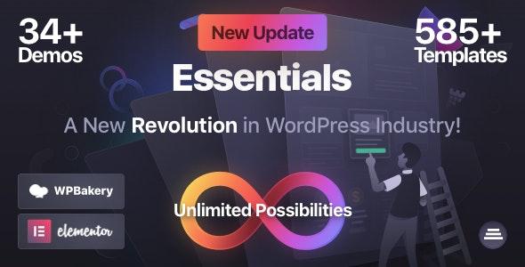 Essentials | Multipurpose WordPress Theme - Business Corporate