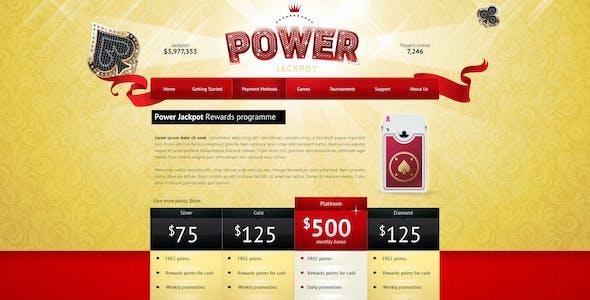 Power Jackpot - sparkly, glossy and shiny