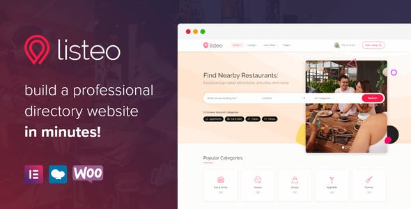 Listeo - Directory & Listings With Booking - WordPress Theme