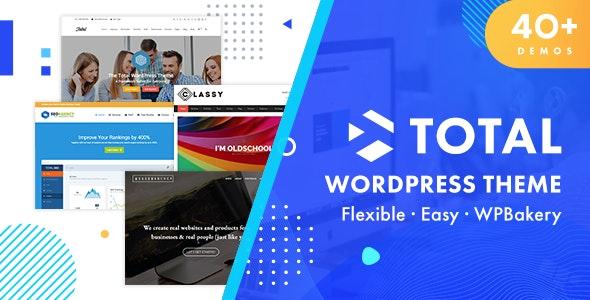 Total - Responsive Multi-Purpose WordPress Theme - Business Corporate