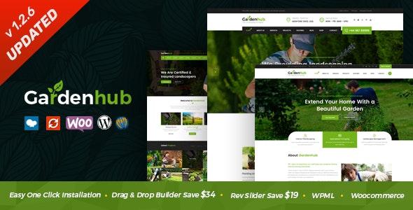 Garden HUB - Lawn & Landscaping WordPress Theme - Business Corporate