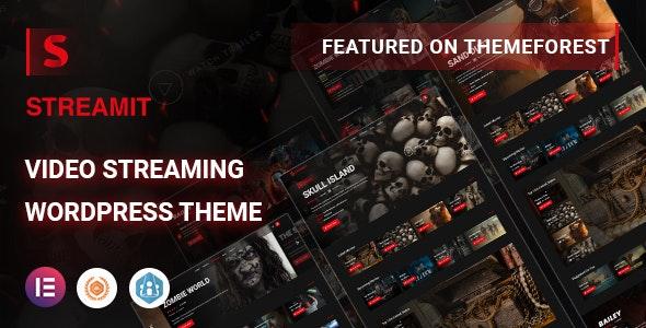 Streamit   Video Streaming WordPress Theme + RTL - Film & TV Entertainment