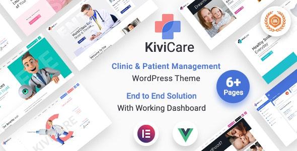 KiviCare - Medical Clinic & Patient Management WordPress Theme - Health & Beauty Retail