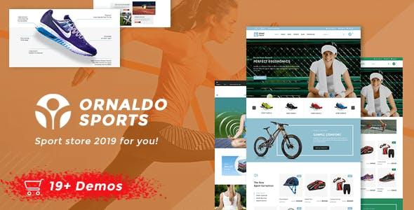 Ornaldo | Sport Shop WooCommerce WordPress Theme