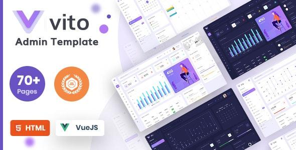 Vito - Vue, Laravel, HTML Admin Dashboard Template - Admin Templates Site Templates