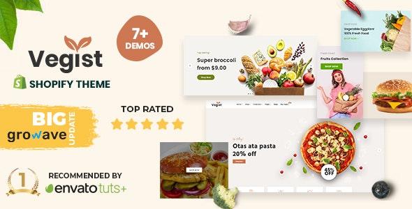 Vegist - The  Vegetables, Supermarket & Organic Food eCommerce Shopify Theme - Shopping Shopify