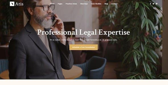 Atis - Lawyers Advisors Business Theme