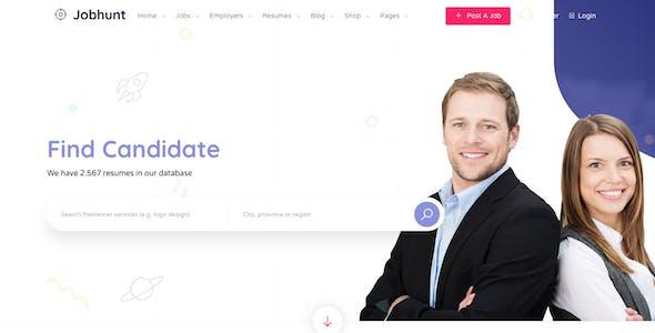 Jobhunt - Job Board WordPress theme for WP Job Manager