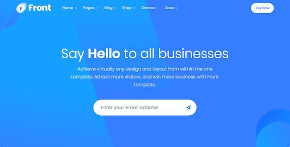 Front - Multipurpose Business WordPress Theme