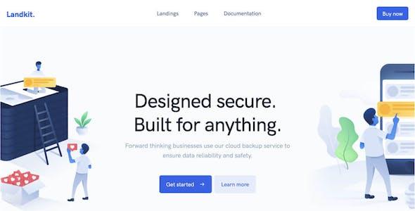 Landkit - Multipurpose Business WordPress Theme