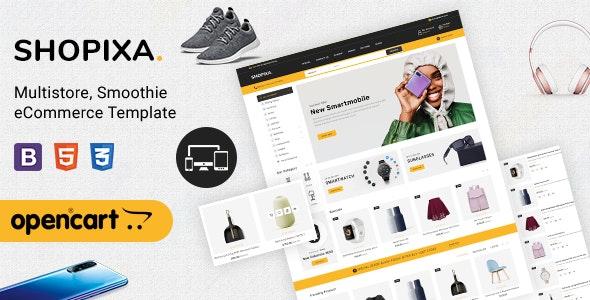 Shopixa - Premium Electronics OpenCart Store - Shopping OpenCart