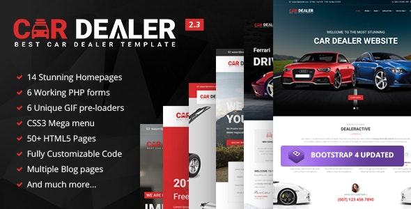 Car Dealer - Automotive Responsive HTML5 Template - Business Corporate