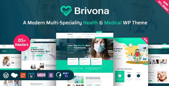 Brivona - Medical, Health and Hospital WordPress Theme - Health & Beauty Retail